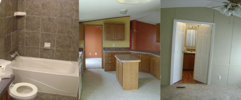 Mobile Home Remodeling Collage
